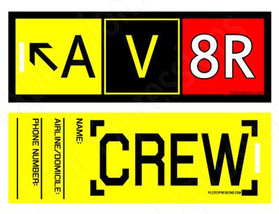 AV8R Crew Tag