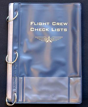 Flight Crew Checklist Binder
