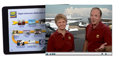 King Flight Instructor Refresher Course (FIRC) Online Course - Fixed Wing