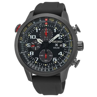Seiko Prospex SSC371 Solar Aviation Chronograph Watch