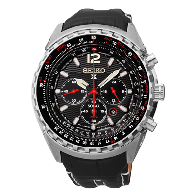 Seiko Prospex SSC289 Solar Aviation Chronograph Watch