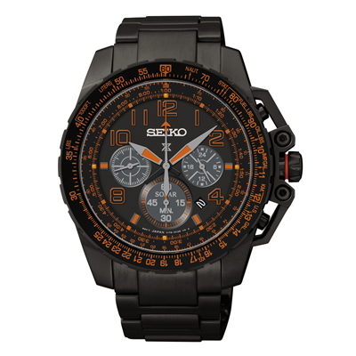 Seiko Prospex SSC277 Solar Aviation Chronograph Watch