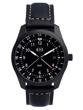 Butler GMT Professional Series Watch - DLC Matte Black