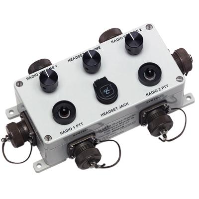 David Clark U3816 Dual Radio Interface Headset Station