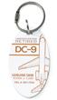 Genuine Douglas DC-9 PlaneTag - Tail # N917RW
