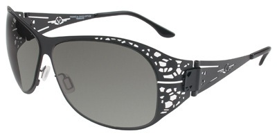 VedaloHD Asti Stritanium Black Frame with Smoke Lens