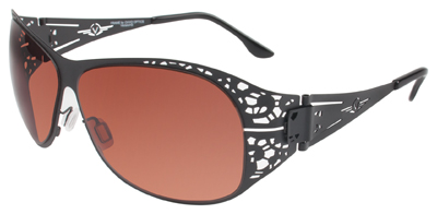 VedaloHD Asti Stritanium Black Frame with Copper Rose Lens