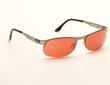 VedaloHD Palermo Stritanium Silver Frame with Copper Rose Lens