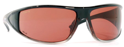 VedaloHD Napoli Medium Full Wrap Black with Copper Rose Lens