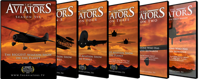 The Aviators TV: Season 1, 2, 3, 4, 5 and 6 DVD Bundle