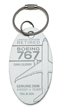 Genuine Boeing 767 PlaneTag - From the Gimli Glider