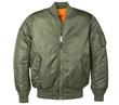 MA-1 Nylon Flight Jacket - Sage Green for Women