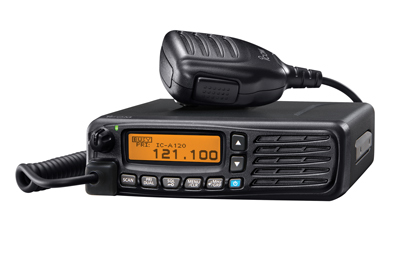 Icom IC-A120 - VHF Air Band Transceiver - Vehicle Mount