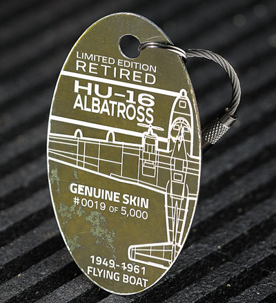 Genuine HU-16 Albatross PlaneTag