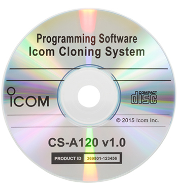 Icom CS-A120 - Cloning Software for IC-A120