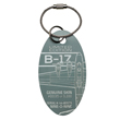 Genuine Boeing B-17 Flying Fortress PlaneTag - Nine-O-Nine