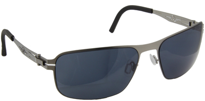 Vedalo Aviano - Stritanium Silver Frame with Smoke Lens