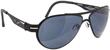 VedaloHD F-18 Stritanium Sunglasses - Black Frame / Smoke Lens