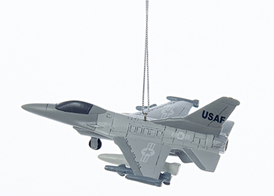 US Air Force F16 Fighter Jet Ornament