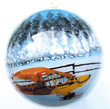 Hand Painted Piper Cub Ornament