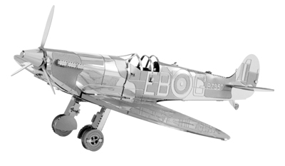 Supermarine Spitfire 3D Lase Cut Model