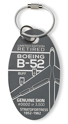 Genuine Boeing B-52 Stratofortress PlaneTag