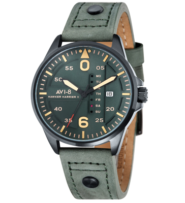 Cockpit Hawker Harrier II Watch AV-4003-04