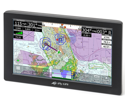 iFLY 720 Moving Map GPS for Pilots - Factory Refurbished