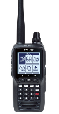 Yaesu FTA-450L COM Aviation Transceiver