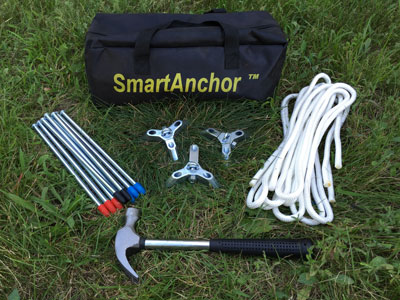 Anchorsmart Smart Anchor Aircraft Tie-Down System