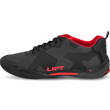 LIFT Aviation Air Boss Flight Shoe - Charcoal / Red
