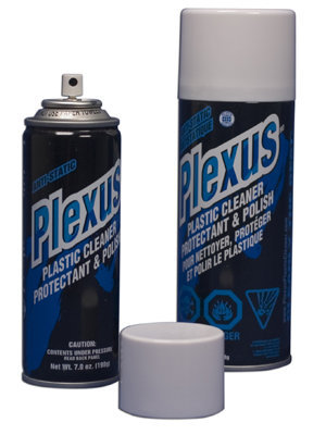 Plexus Plexiglass Cleaner - 13 ounce aerosol can