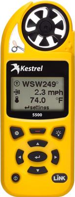 Kestrel 5500 Wind / Weather Meter