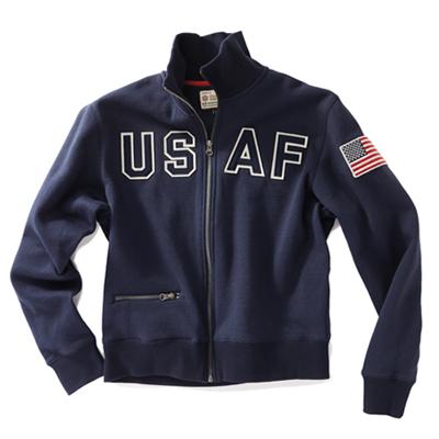 USAF Full Zip Sweatshirt