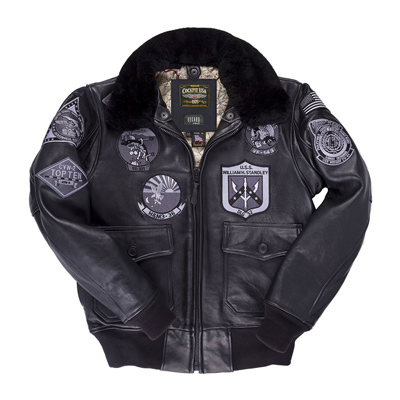 Cockpit Bogard Stealth Top Gun Bomber Jacket