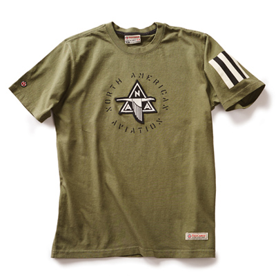 North American Aviation Applique T-Shirt
