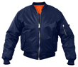 Kids MA-1 Flight Jacket - Navy Blue