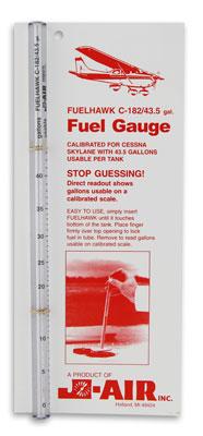 FuelHawk Cessna 182 Long Range Fuel Gauge