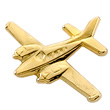 Beechcraft Baron Airplane Pin - Gold