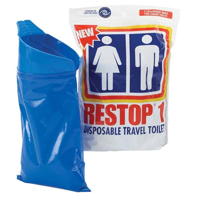 Restop1 Disposable Travel Toilet 20 Pack