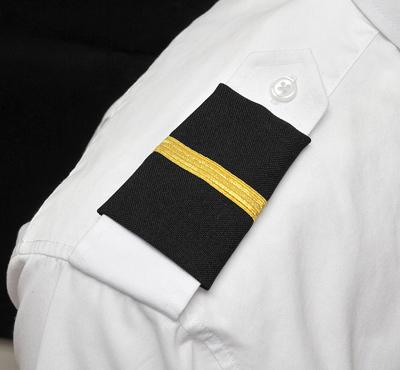 One Bar Epaulets - Student Pilot
