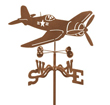 Corsair Airplane Weathervane