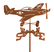 P-51 Mustang Airplane Weathervane
