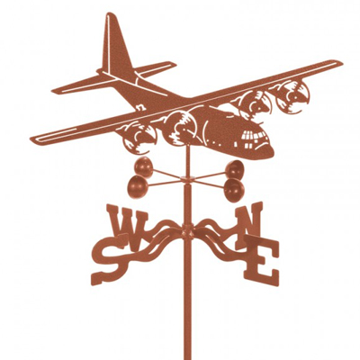 C-130 Airplane Weathervane
