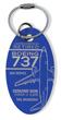 Genuine Southwest Airlines Boeing 737-300 PlaneTag - Tail # N365SW (Blue)