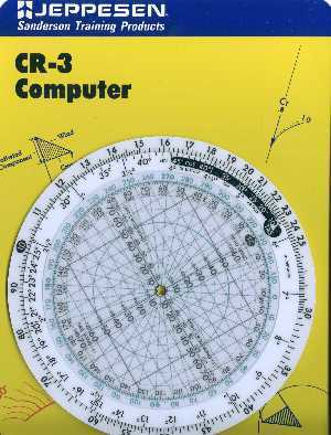 Jeppesen CR-3 Circular Flight Computer