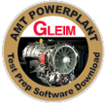 Gleim AMT Test Prep Software - Powerplant