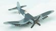 F4U Corsair (Navy) Hot Wings Die-Cast Airplane