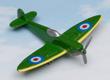 Spitfire Hot Wings Die-Cast Airplane