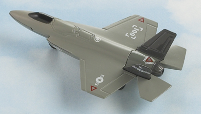 F-35 Joint Strike Fighter Hot Wings Die-Cast Airplane